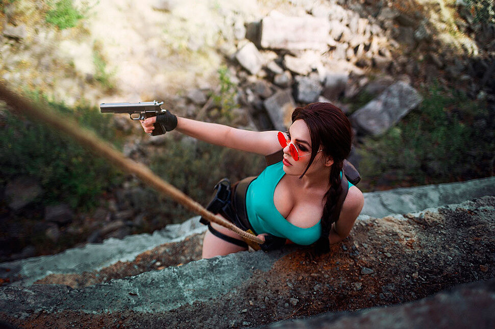 Russian Cosplay: Lara Croft (Tomb Raider) by Alice Cosplay