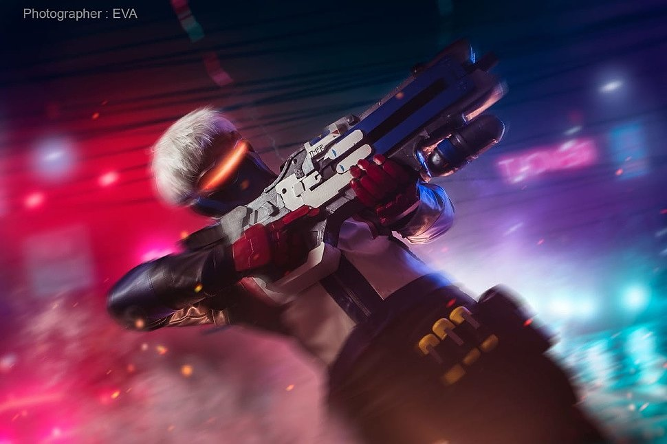 Russian Cosplay: Soldier 76 (Overwatch)