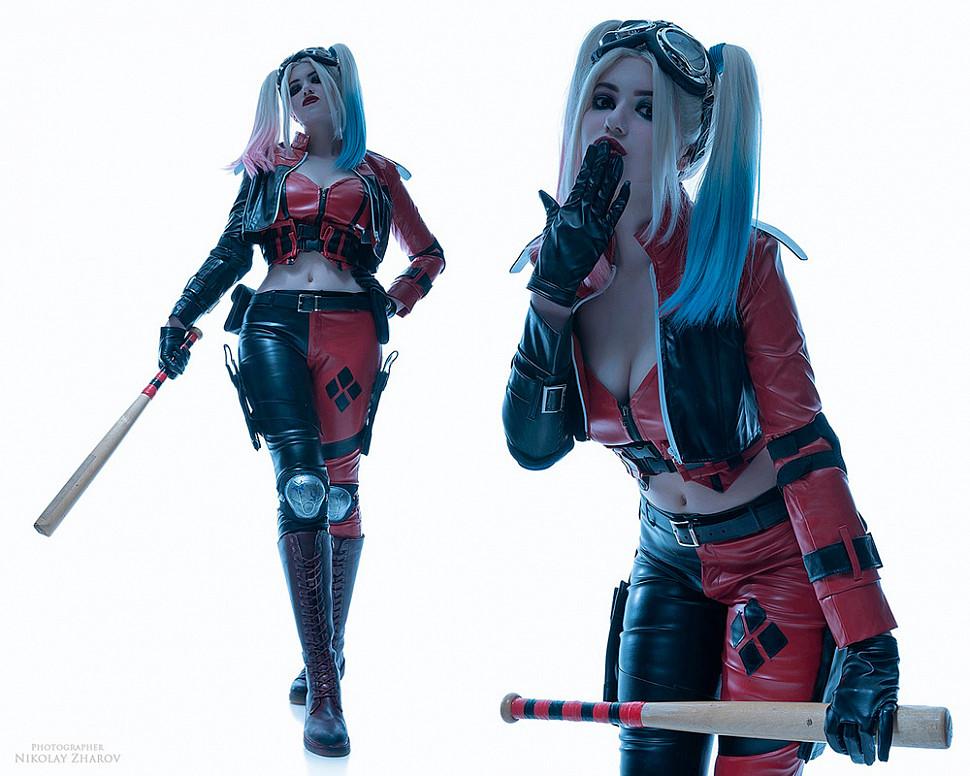 [Cosplay] Harley Quinn (DC Comics) by Alina Becker