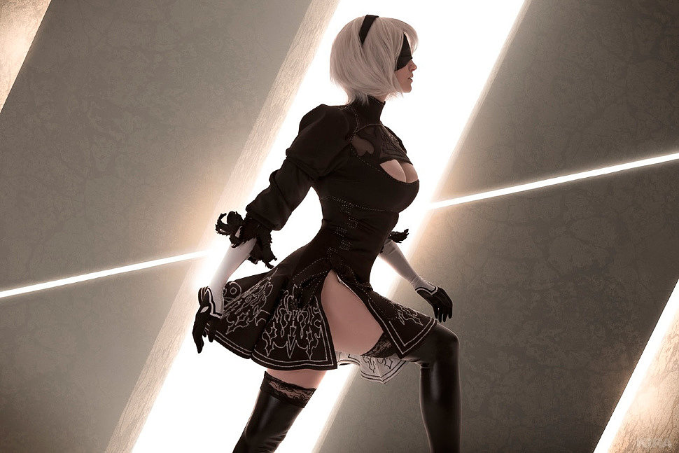 Russian Cosplay: YoRHa No.2 Type B (NieR: Automata)