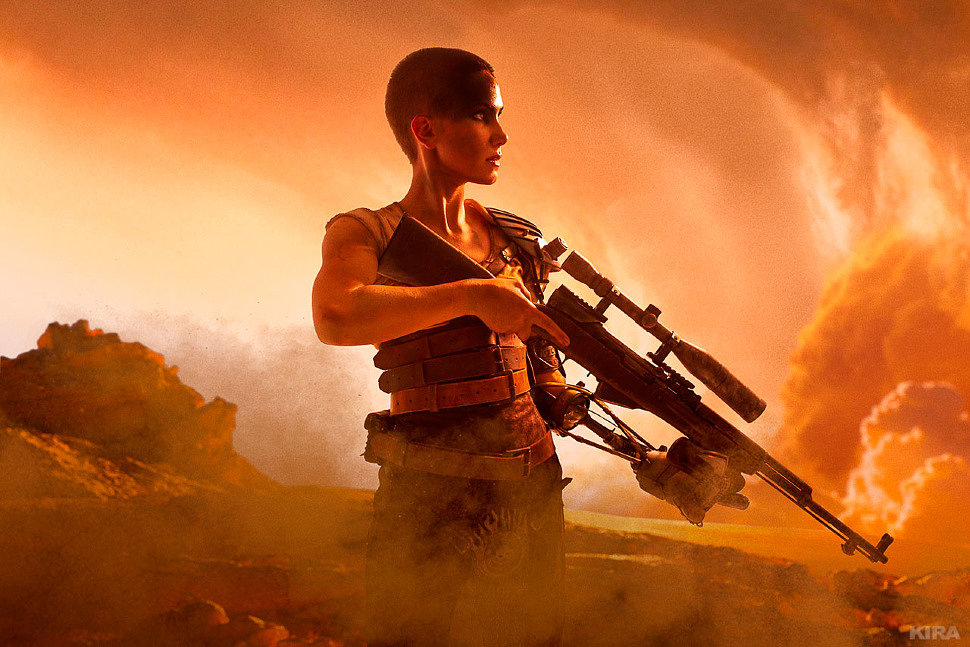 Russian Cosplay: Imperator Furiosa (Mad Max: Fury Road)