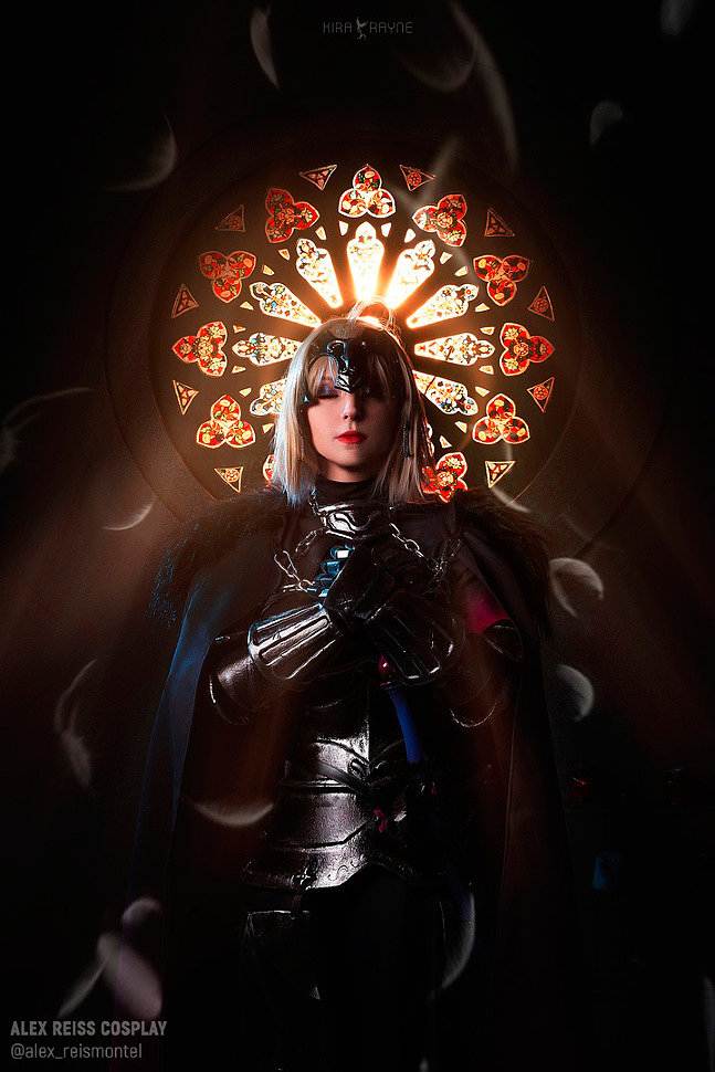 Russian Cosplay: Jeanne D'arc (Alter) (Fate/Grand Order)