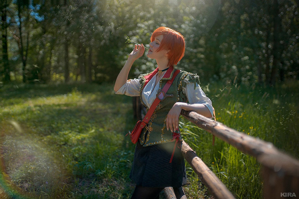 Russian Cosplay: Shani (The Witcher 3) by Lyumos