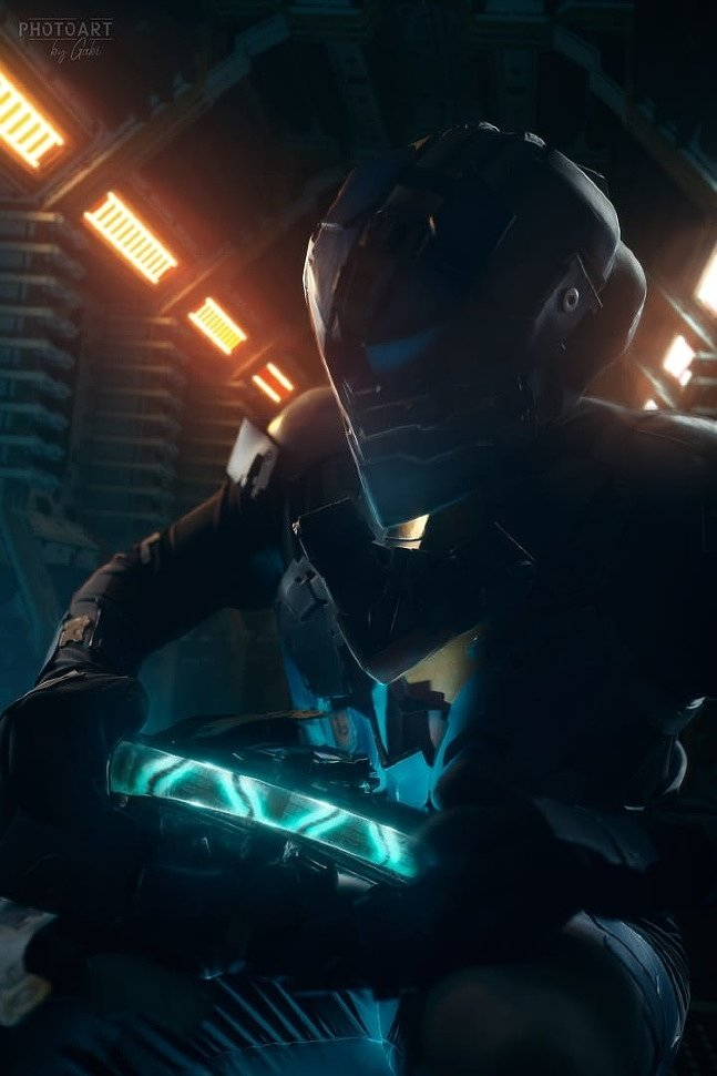 Russian Cosplay: Isaac Clark (Dead Space) by M0rg0t