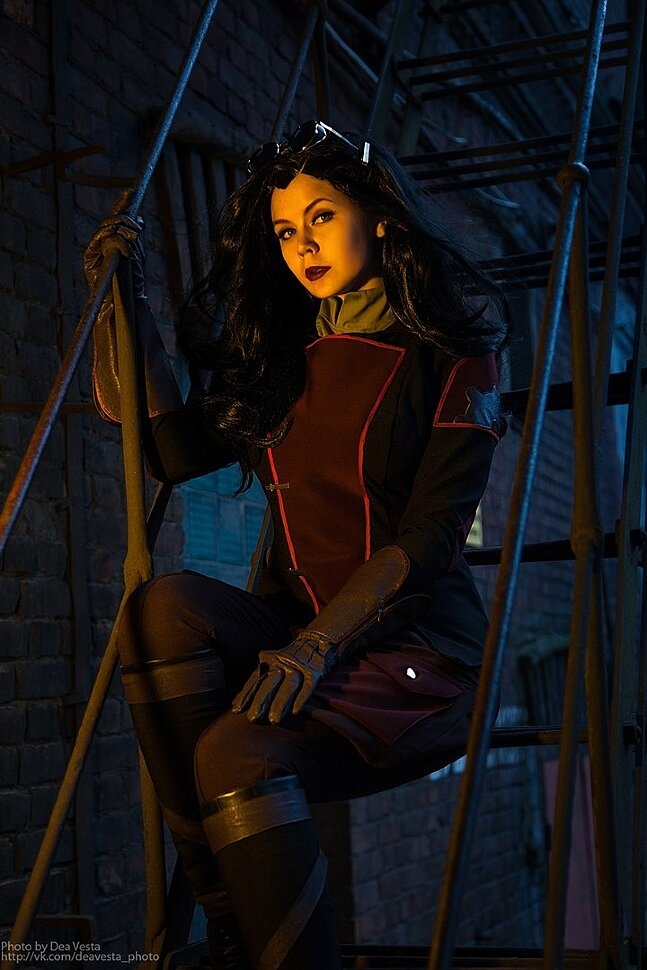 Asami Sato (The Legend of Korra) Cosplay by Asami Gate