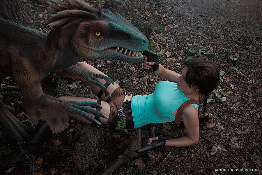 Russian Cosplay: Lara Croft (Tomb Raider)
