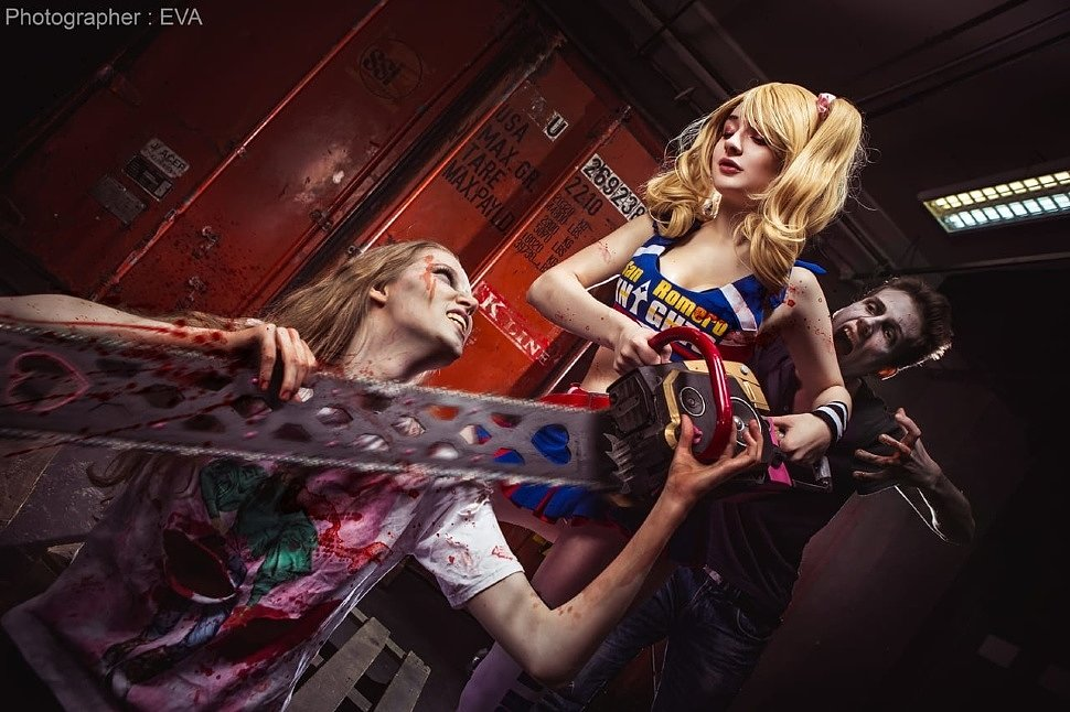 Russian Cosplay: Juliet Starling (Lollipop Chainsaw) by Daria Hime