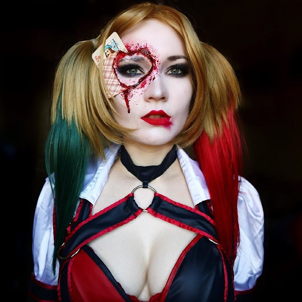 Russian Cosplay: Harley Quinn (DC) by saint.elena