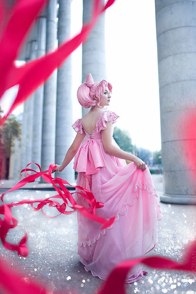 Russian Cosplay: Chibiusa (Sailor Moon)