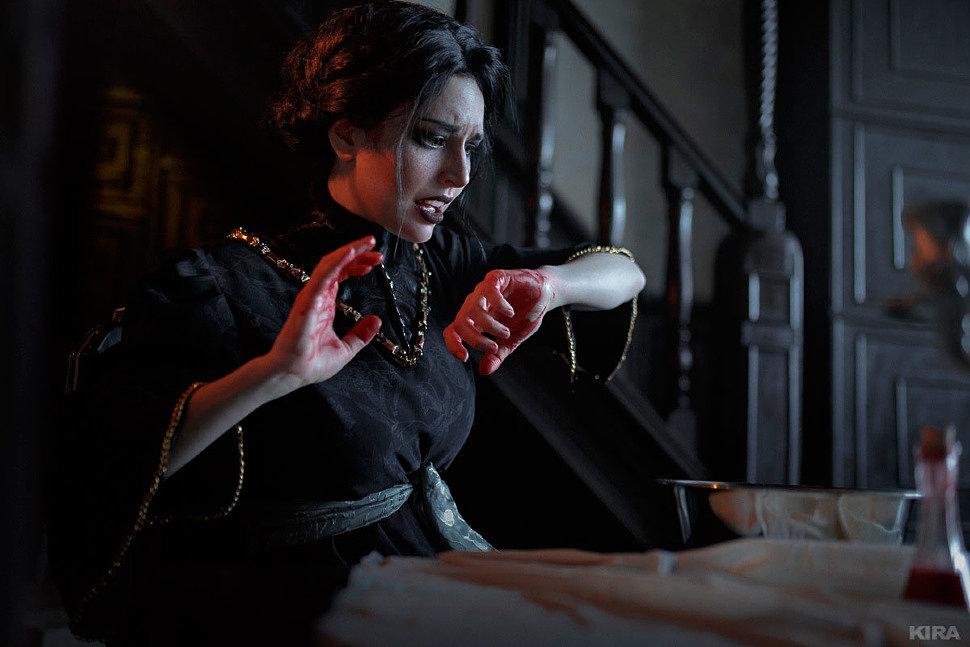 Russian Cosplay: Iris von Everec (The Witcher 3: Wild Hunt – Hearts of Stone)