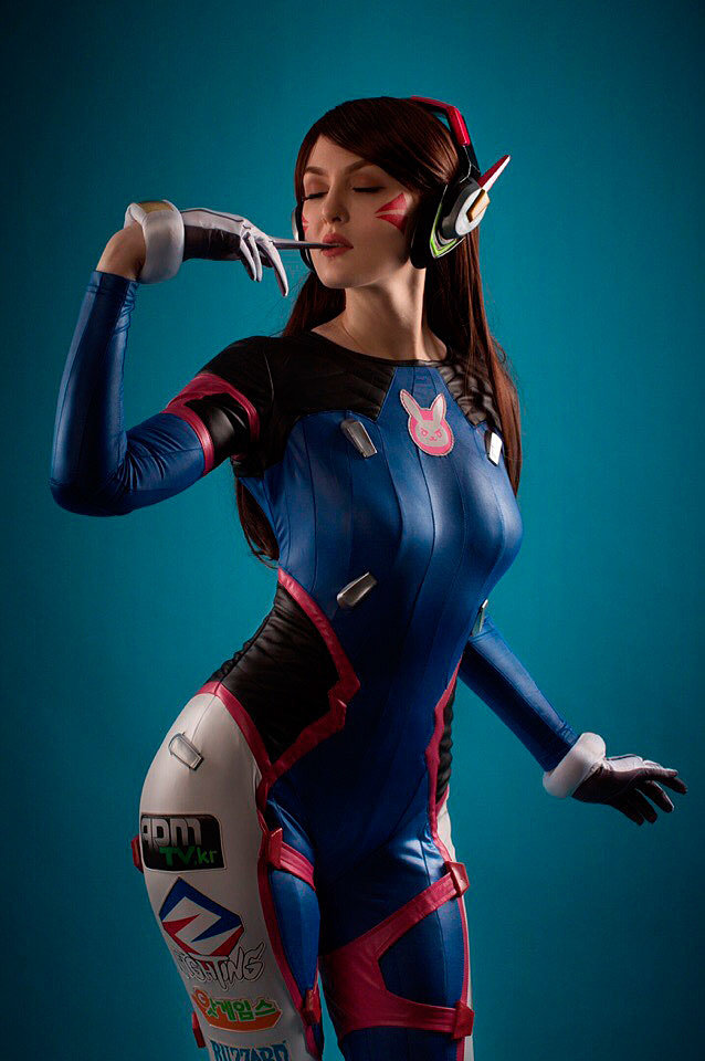 Russian Cosplay: D.Va (Overwatch) by Inferno