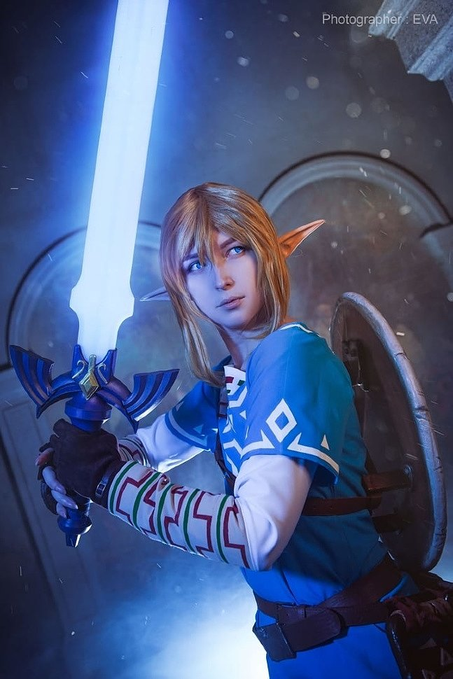 Russian Cosplay: Link (The Legend of Zelda: Breath of the Wild)