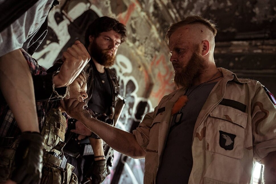 Russian Cosplay: Rebels, Sectarians (Far Cry 5) by Alex Wolf, Rescapist, Johnny Hlepp, Andra Skela & Gunarmedved