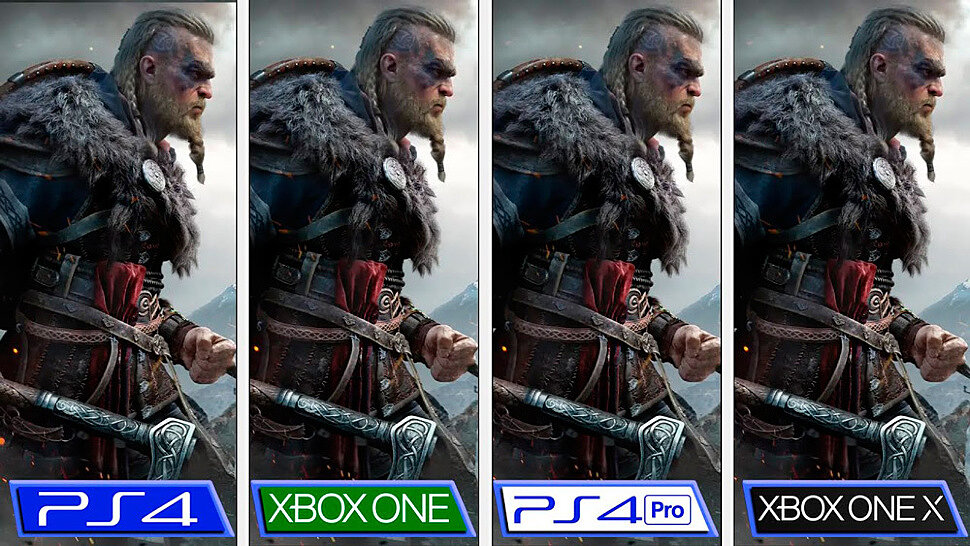 [Fun Video] Assassin's Creed Valhalla Graphics Comparison