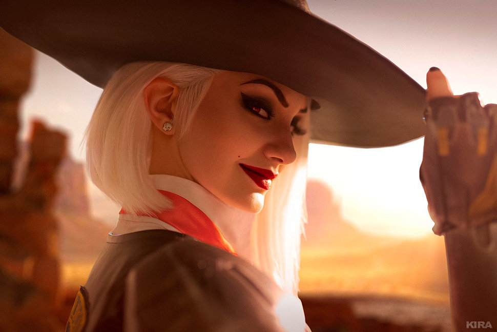 Russian Cosplay: Ashe (Overwatch) by Vixena Siren (ver 3)