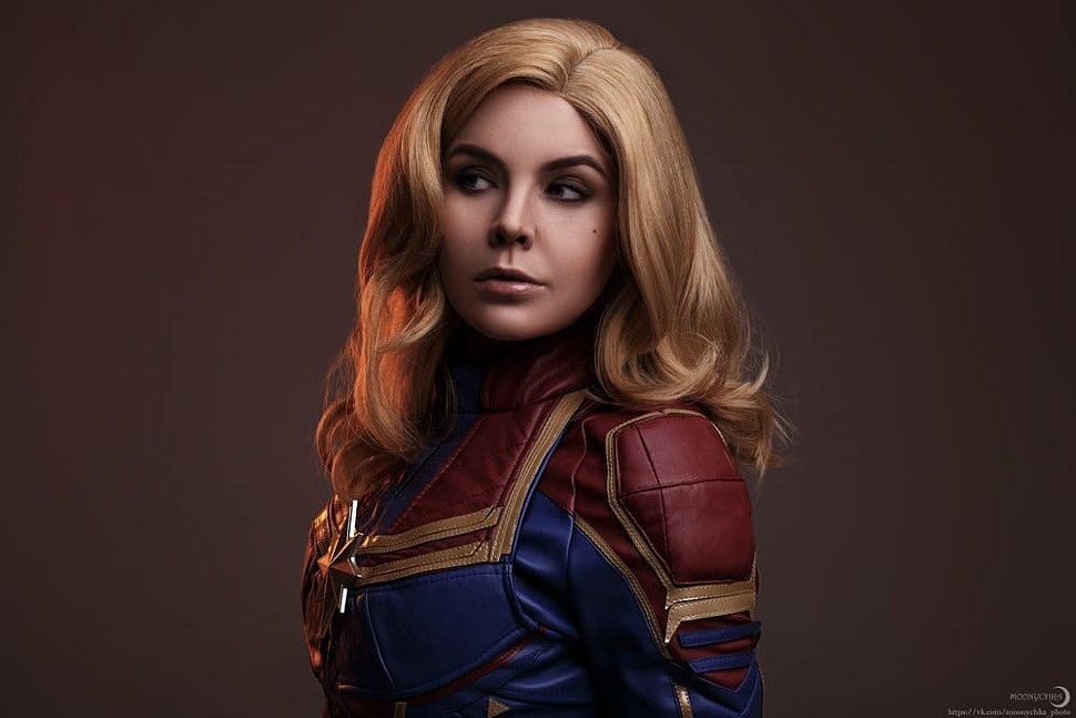 Russian Cosplay: Captain Marvel