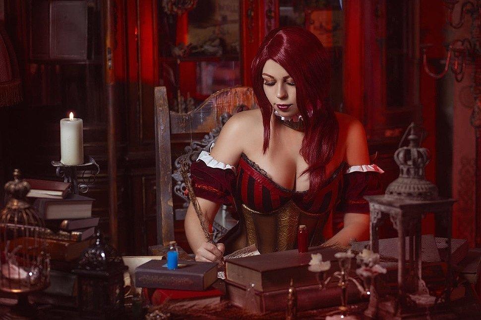Russian Cosplay: Sabrina Glevissig (The Witcher)