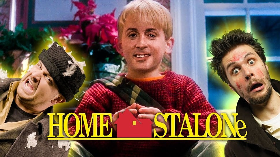 [Fun Video] Home Alone with Sylvester Stallone (DeepFake)