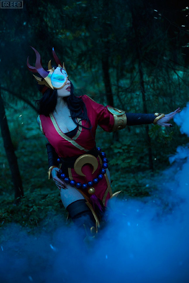 Russian Cosplay: Diana, Evelynn, Sivir (LoL)