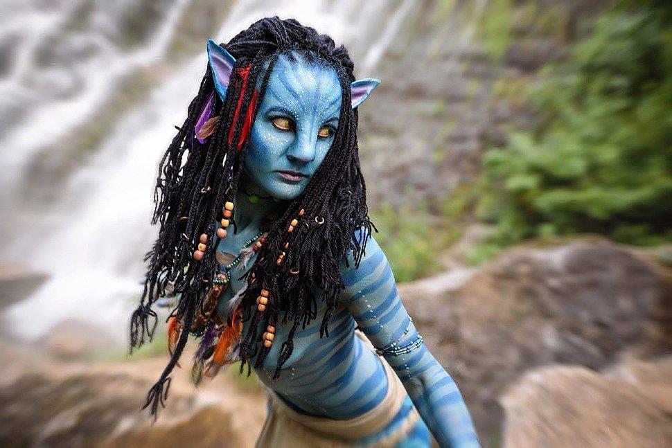 Russian Cosplay: Neytiri (Avatar)