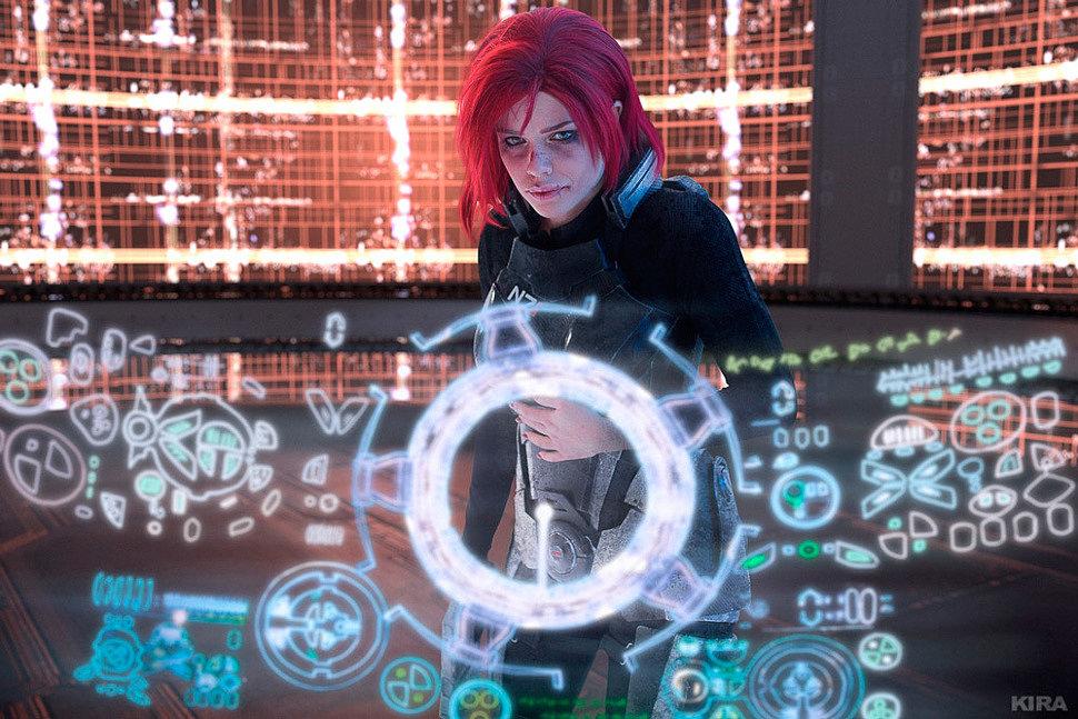 Russian Cosplay: Jane Shepard (Mass effect 3) by Catarina