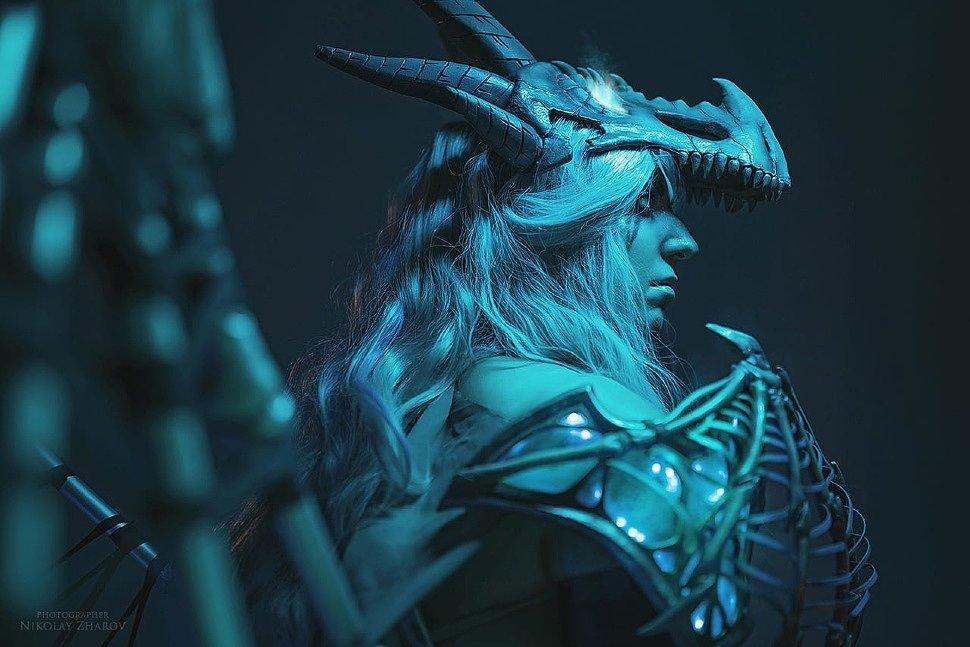 Russian Cosplay: Sindragosa (World of Warcraft) by Aliza