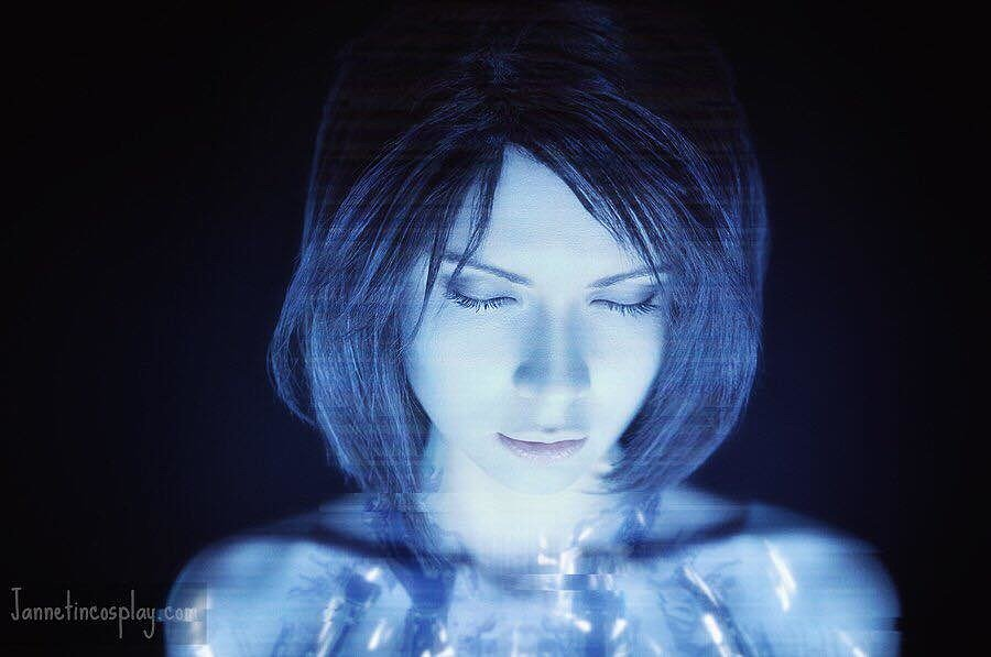 Russian Cosplay: Cortana (Halo) by Jannet Incosplay