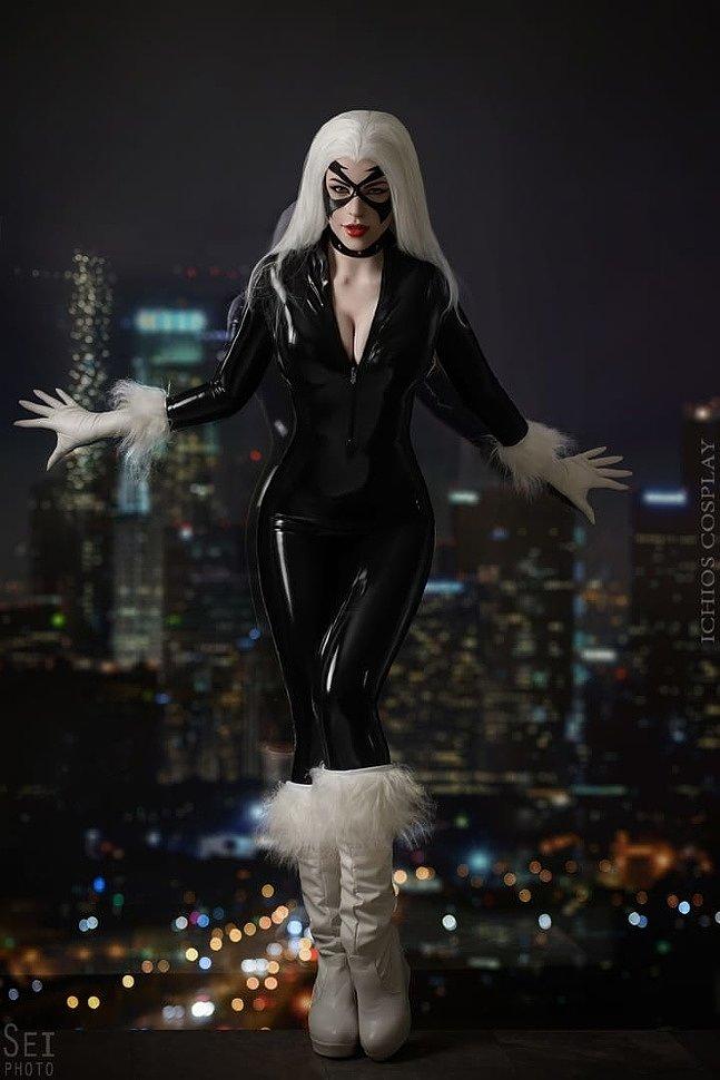 Russian Cosplay: Black Cat (Marvel Comics) by Anya Erlstreim