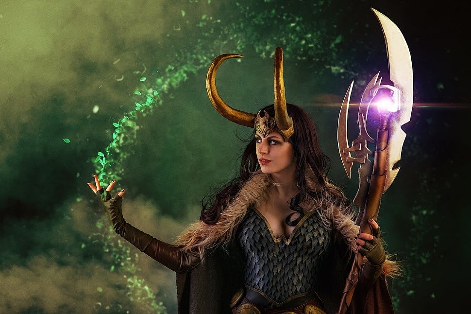 Russian Cosplay: Lady Loki (Marvel Comics)