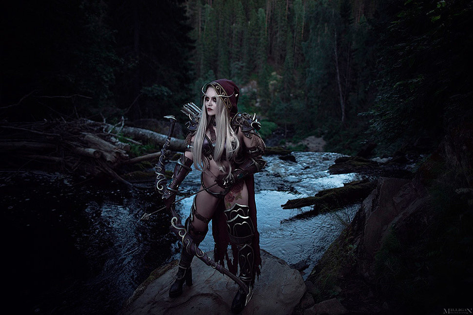 Russian Cosplay: Sylvanas (WoW) by Kalinka Fox (18+)