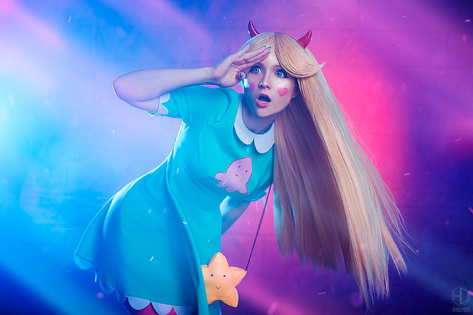 Russian Cosplay: Star Butterfly (Star vs The Forces of Evil)
