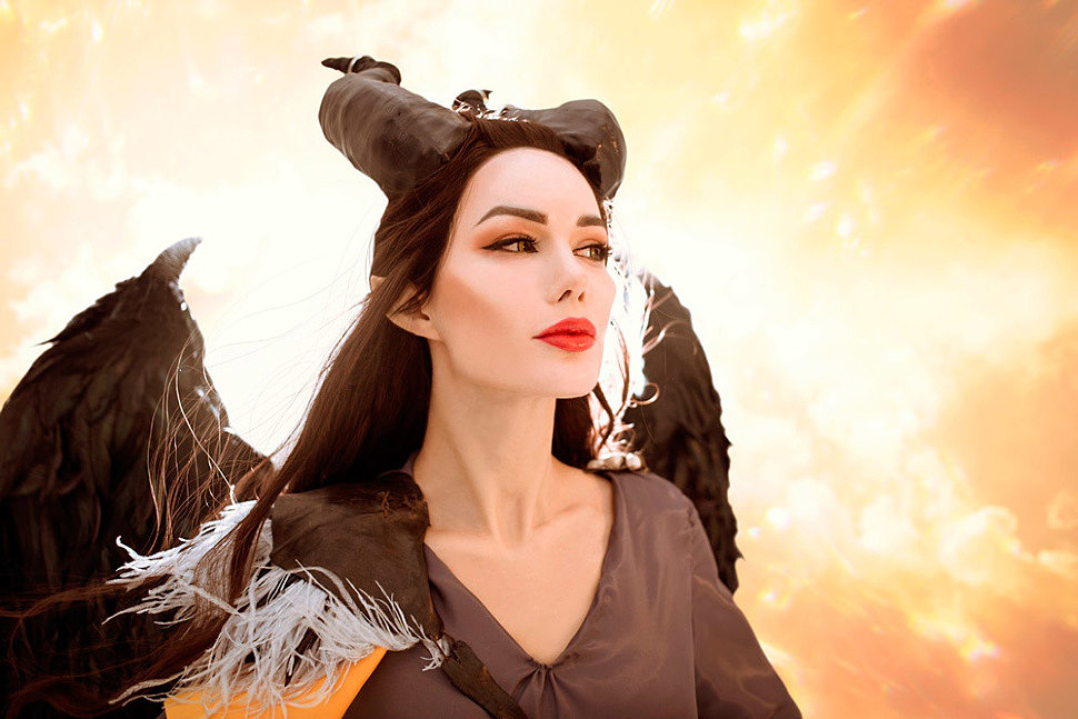 Russian Cosplay: Maleficent (Maleficent: Mistress of Evil) by Maria Hanna