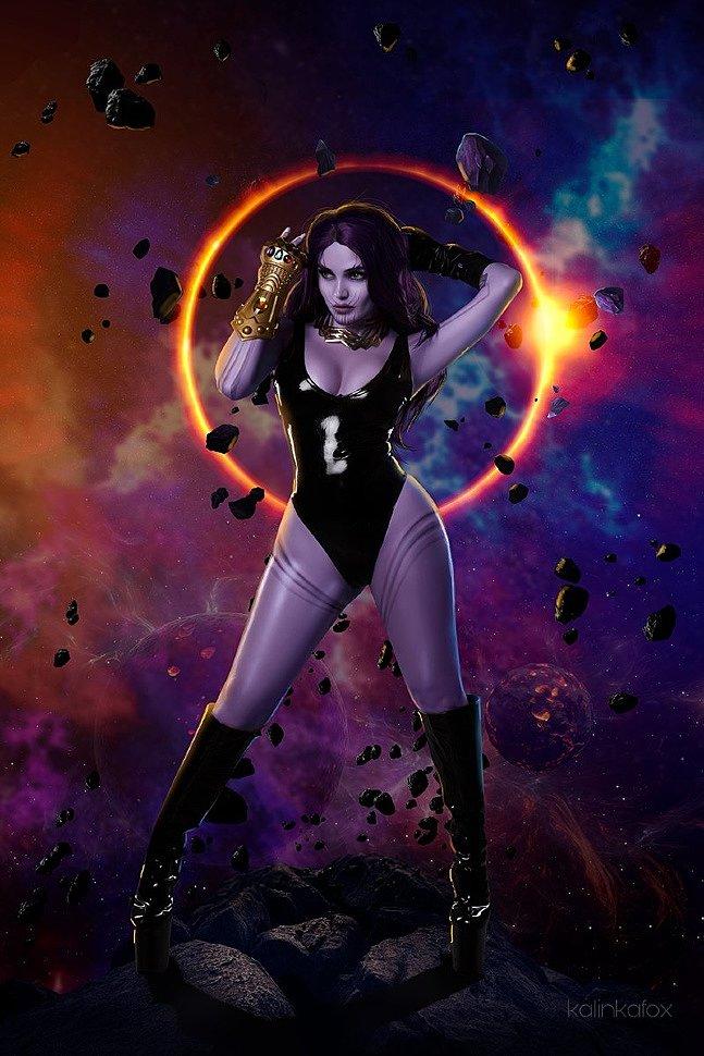 Russian Cosplay: Thanos (Marvel Comics) by Kalinka Fox