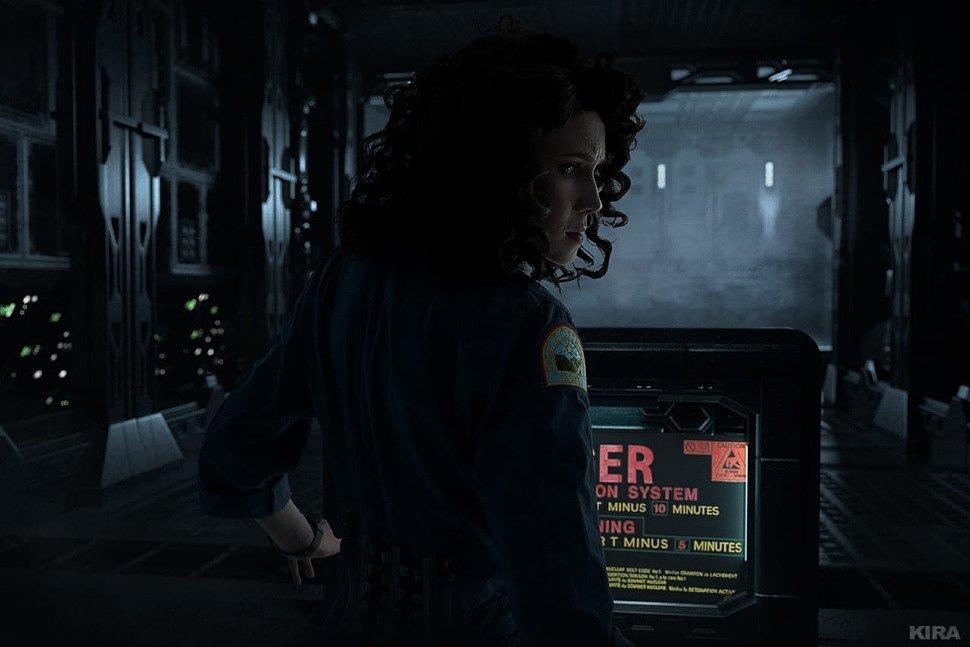 Russian Cosplay: Ellen Ripley (Alien) by Frau_Haku