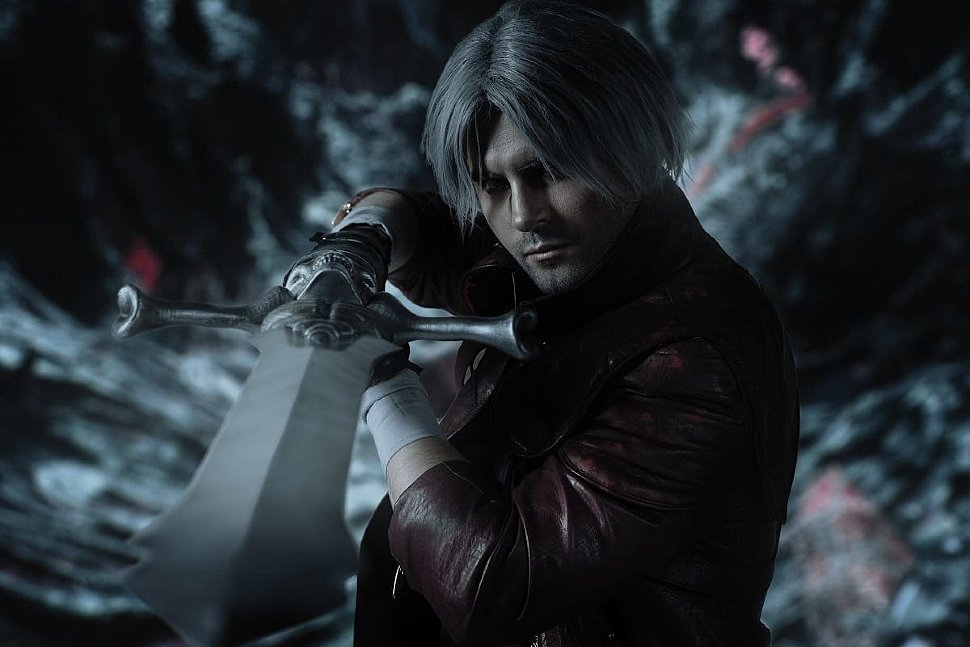 Russian Cosplay: Dante (Devil May Cry) by GraysonFin