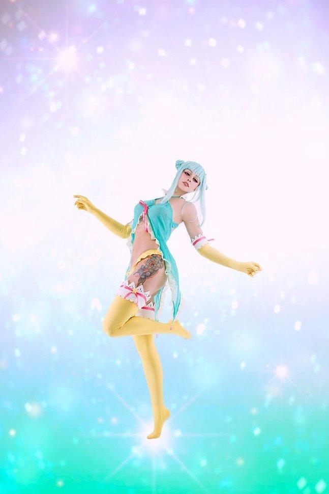 Russian Cosplay: Girl (Daoko Girl) by Senedy
