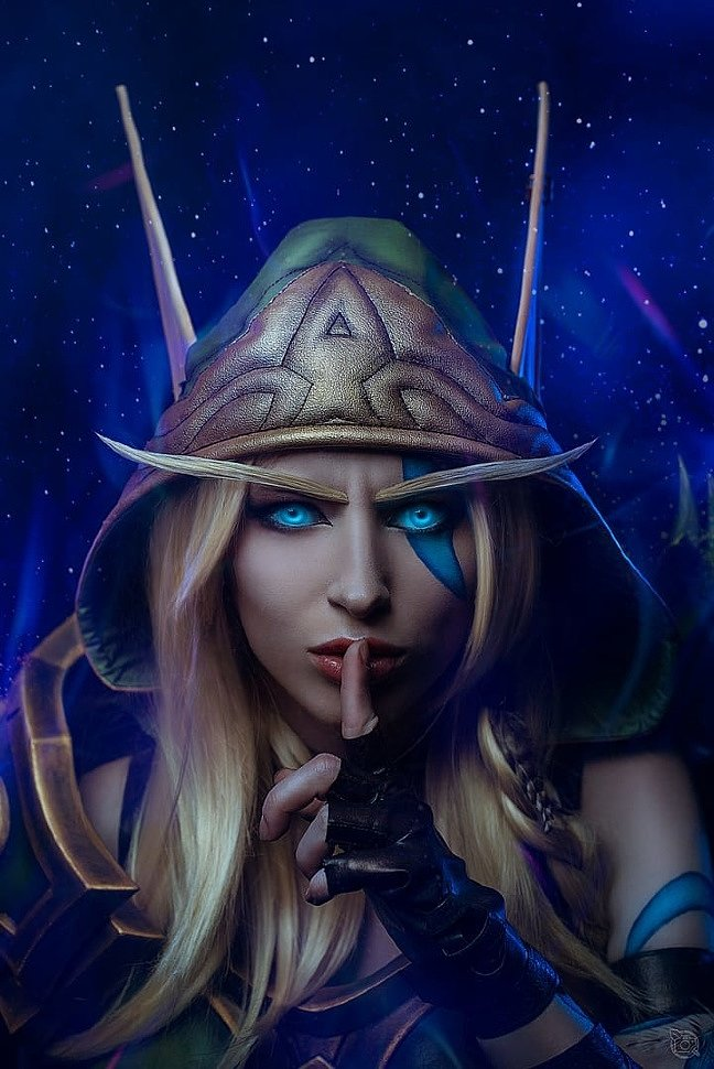 Russian Cosplay: Alleria Windrunner (World of Warcraft) by Lady Melamori