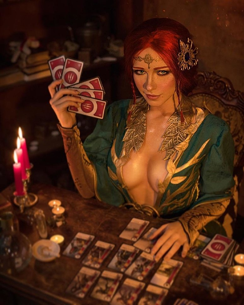 Russian Cosplay: Triss Merigold (The Witcher 3) by Irina Meier
