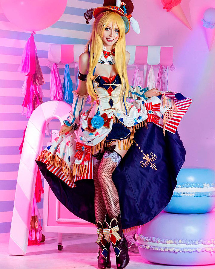 Cosplay: Eli Ayase (Love Live! Circus) by Bellatrix Aiden