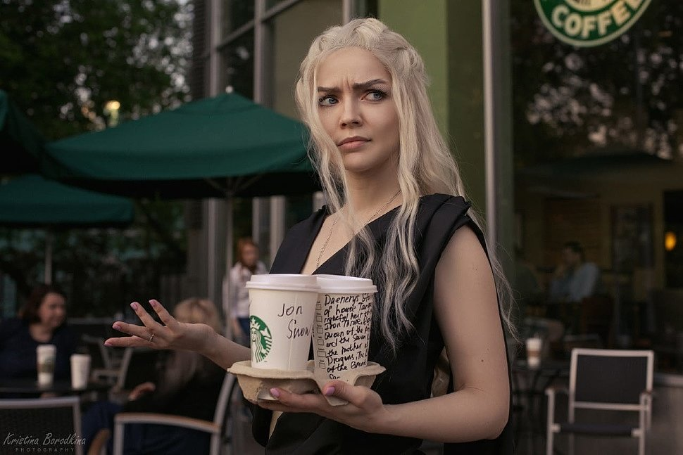 Russian Cosplay: Daenerys Targaryen (Game of Thrones)