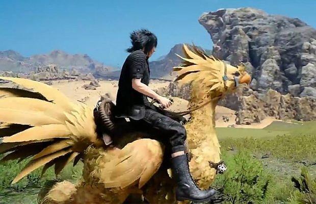 [Fun Video] You can pet the chocobo in Final Fantasy XV