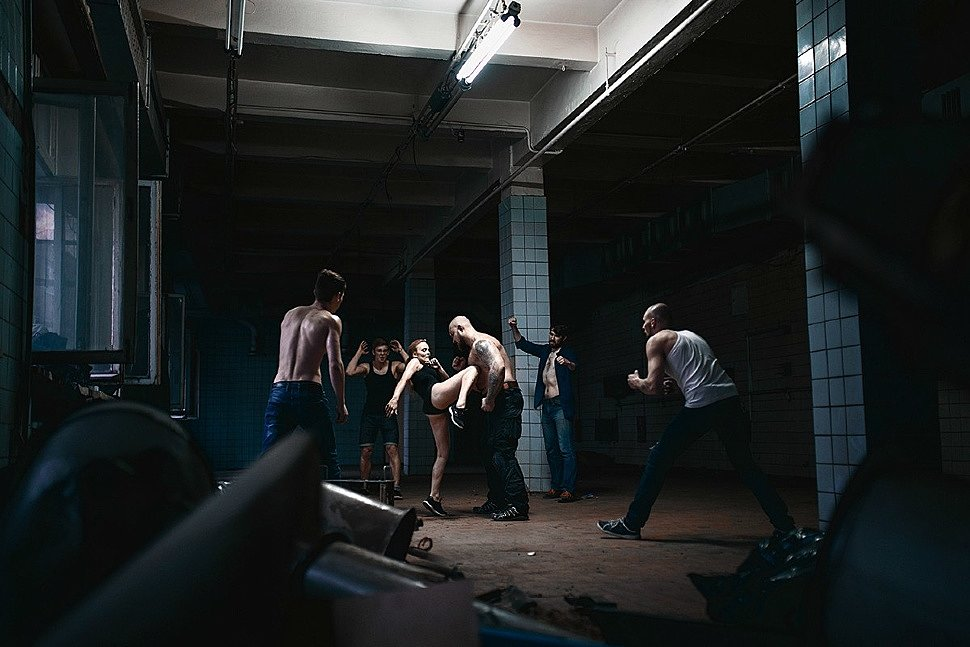 Russian Cosplay: Fight Club by katssby