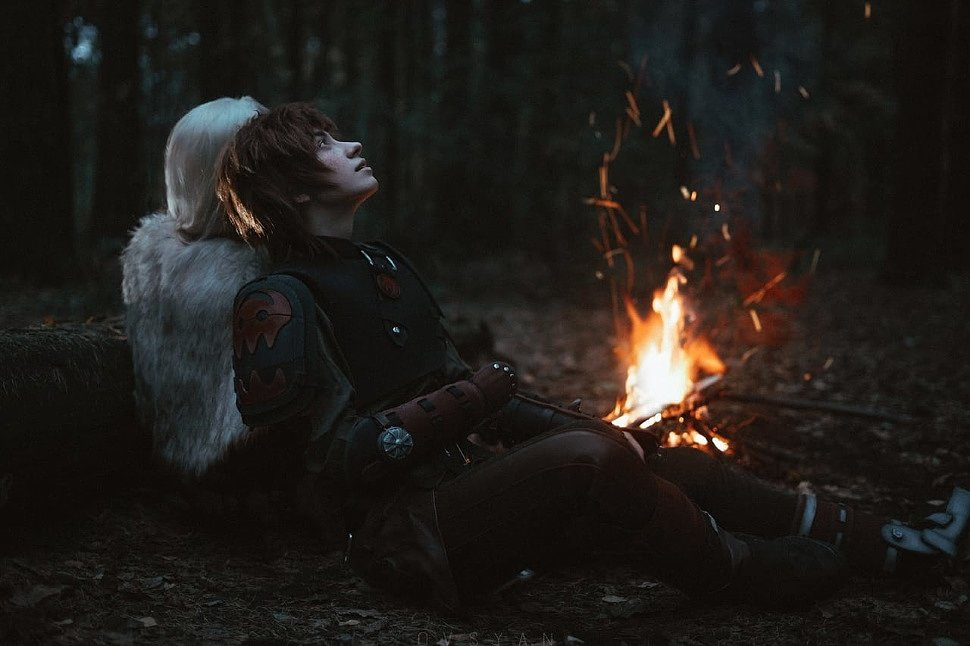 Russian Cosplay: Ikking & Astrid (How To Train Your Dragon) by Timofey & Pasha