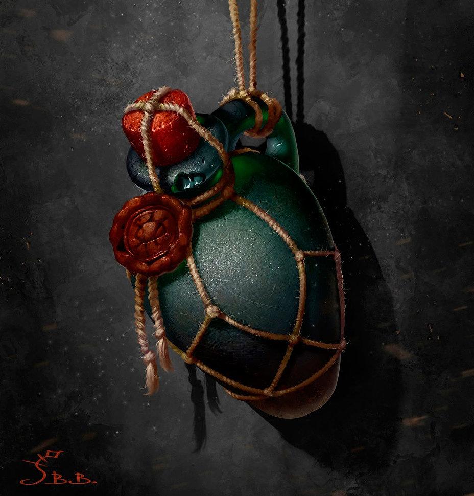 [Art] Magic Potion Bottles by Vera Velichko