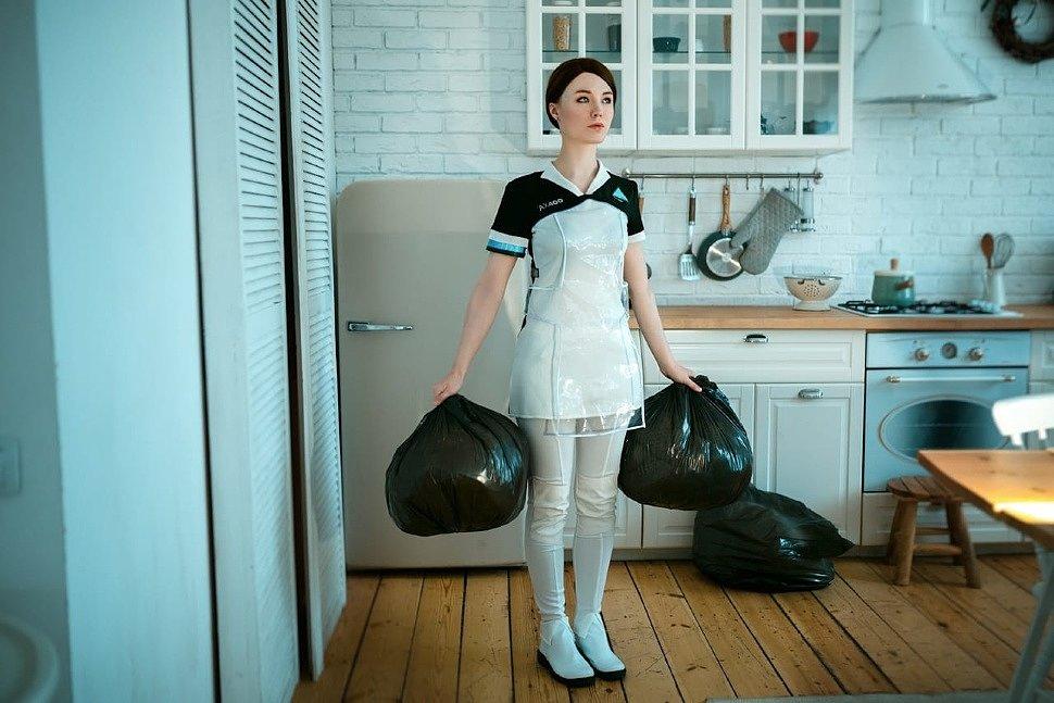 Russian Cosplay: Kara (Detroit: Become Human) by Lunaritie