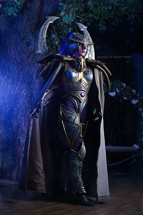Russian Cosplay: Maiev Shadowsong (World of Warcraft)
