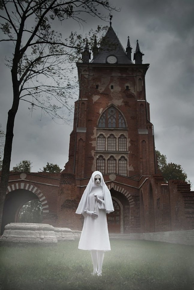 Russian Cosplay: Nun (American Horror Story: Asylum) by Chokobo