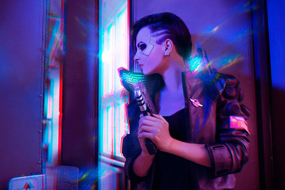 Russian Cosplay: V (Cyberpunk 2077) by katfromrivia