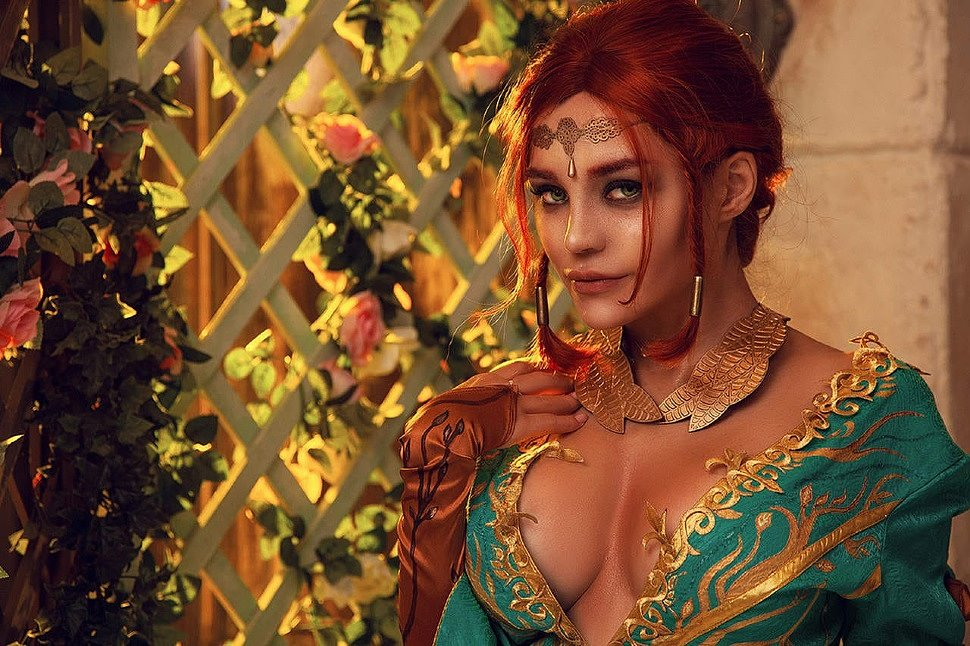 Russian Cosplay: Triss Merigold (The Witcher 3: Wild Hunt) 18+ | G4SKYnet