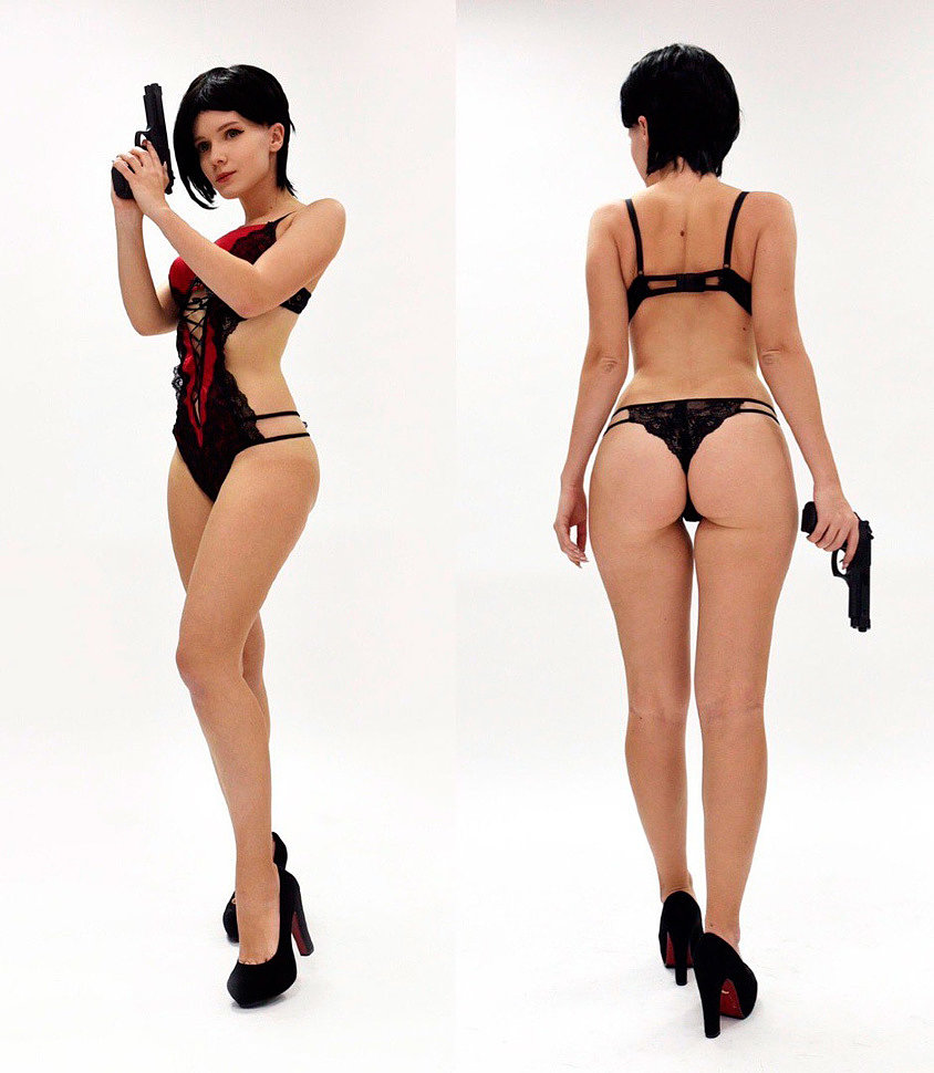 Russian Cosplay: Ada Wong (Resident Evil 2 Remake) by Evenink (18+)